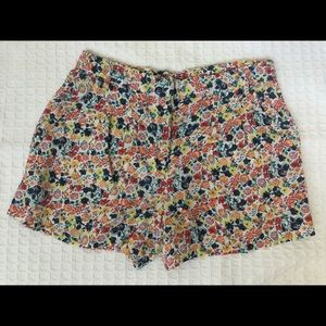 French Connection flowered shorts